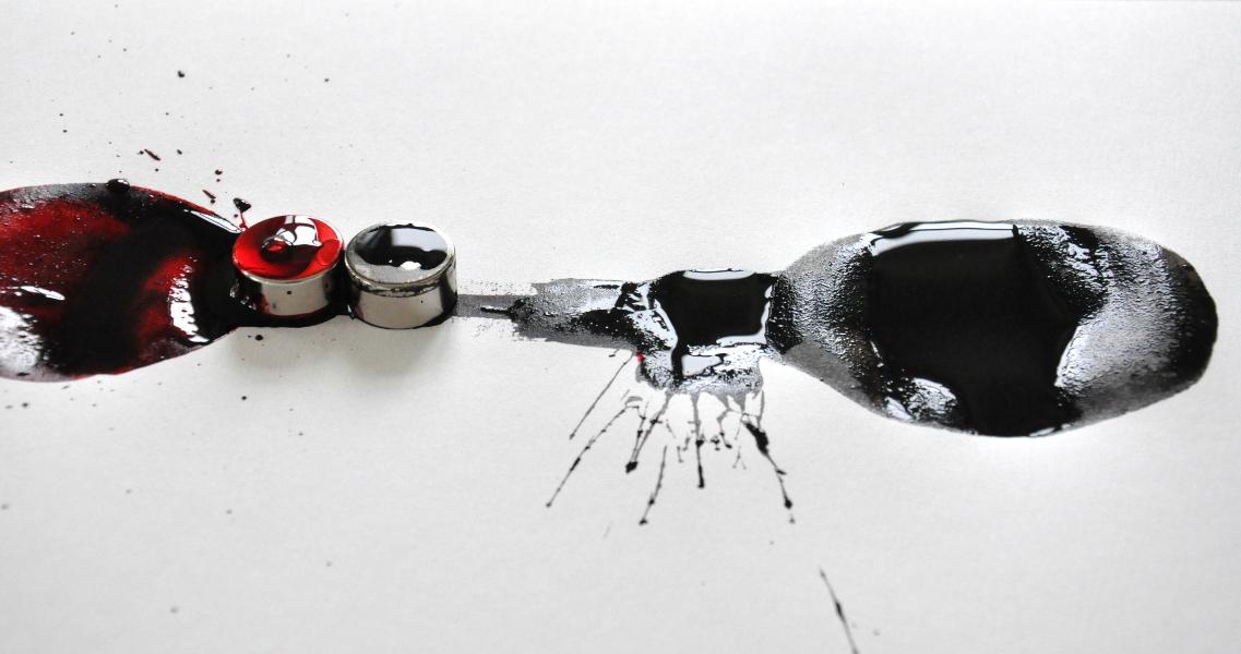Tinte und Supermagnet 3