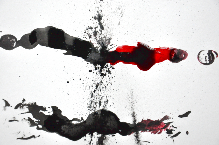 Tinte und Supermagnet 4